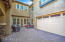 Courtyard offers additional entertaining space.