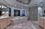 Immaculate large luxury master bathroom w/his & her vanities