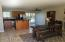 Great room for eating and entertaining. Open space accommodates a variety of furniture and your lifestyle.