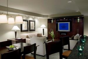 Living Area of 3 bedroom villa
