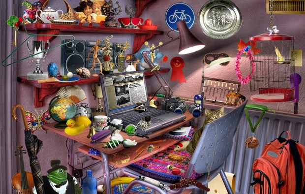 Computer, Room, Desk, Toys, Game, Play, Child, Youth