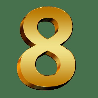 Kostenlose Illustration: Zahlen, Gold, Acht, Zahl, Ziffer - Kostenloses Bild auf Pixabay - 634907