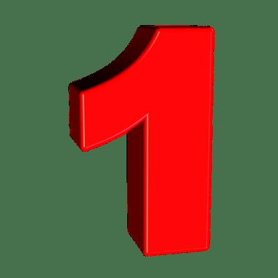 One Number 1 · Free image on Pixabay