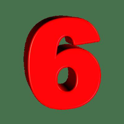 Six Number 6 · Free image on Pixabay