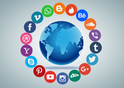 Social Media World Communication · Free vector graphic on Pixabay