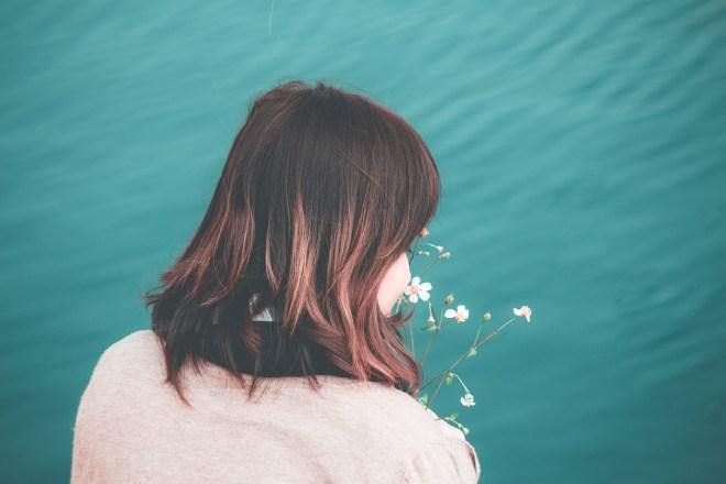 Cô Gái, Biển, Buồn, Ánh Nắng Mặt Trời, Hoạt Động, Nước