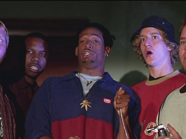 do Shorty and his friends use to make a water bong with Ghostface
