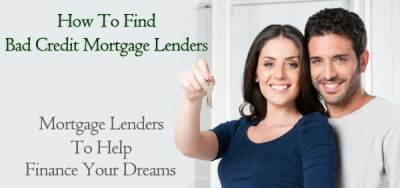Bad Credit Mortgage Lenders for People Toughest to Qualify