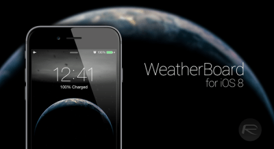 How To Add Animated Weather Wallpaper To iOS 8 Home Screen And Lock Screen [Video] | Redmond Pie