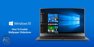 Enable Windows 10 Desktop Wallpaper Slideshow, Here's How | Redmond Pie