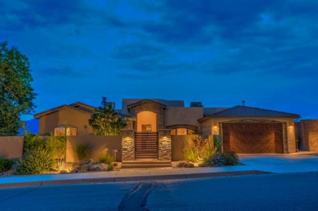 Welcome to 308 Pinnacle Drive in Rio Rancho. Yes, it really is as beautiful as these photos!