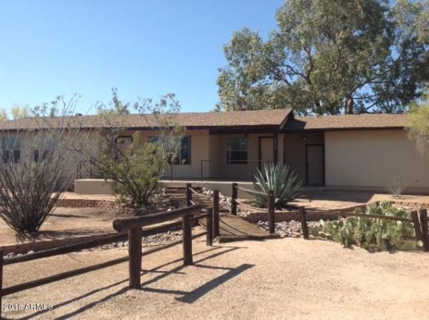 Welcome to Noble Ranch located in Cave Creek on 2.28 acres of horse property. South front and North backing.