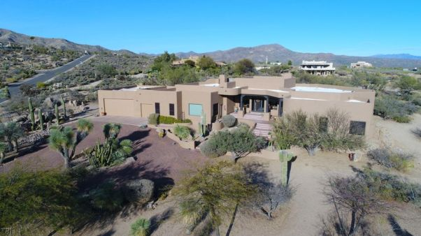 Hillside home sitting on nearly 2 acres