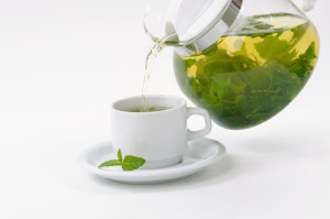 Green tea liquid