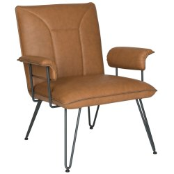 Small Crop Of Leather Chair Mid Century
