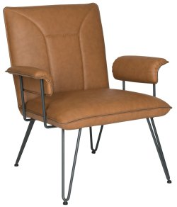 Small Of Leather Chair Mid Century