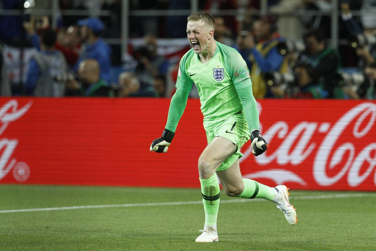 Pickford the hero as England s penalty curse ends   AM 1190 WAFS         Pickford the hero as England s penalty curse