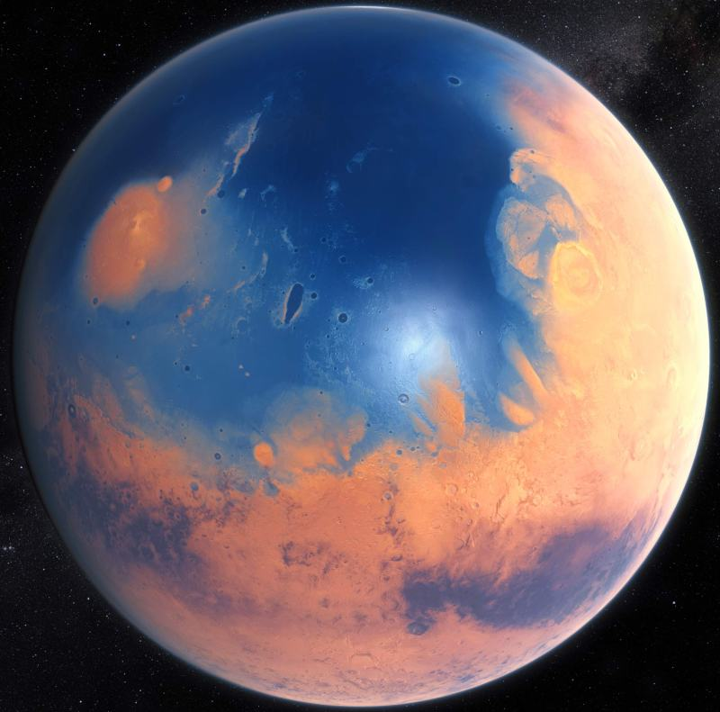 Image result for the ancient ocean mars
