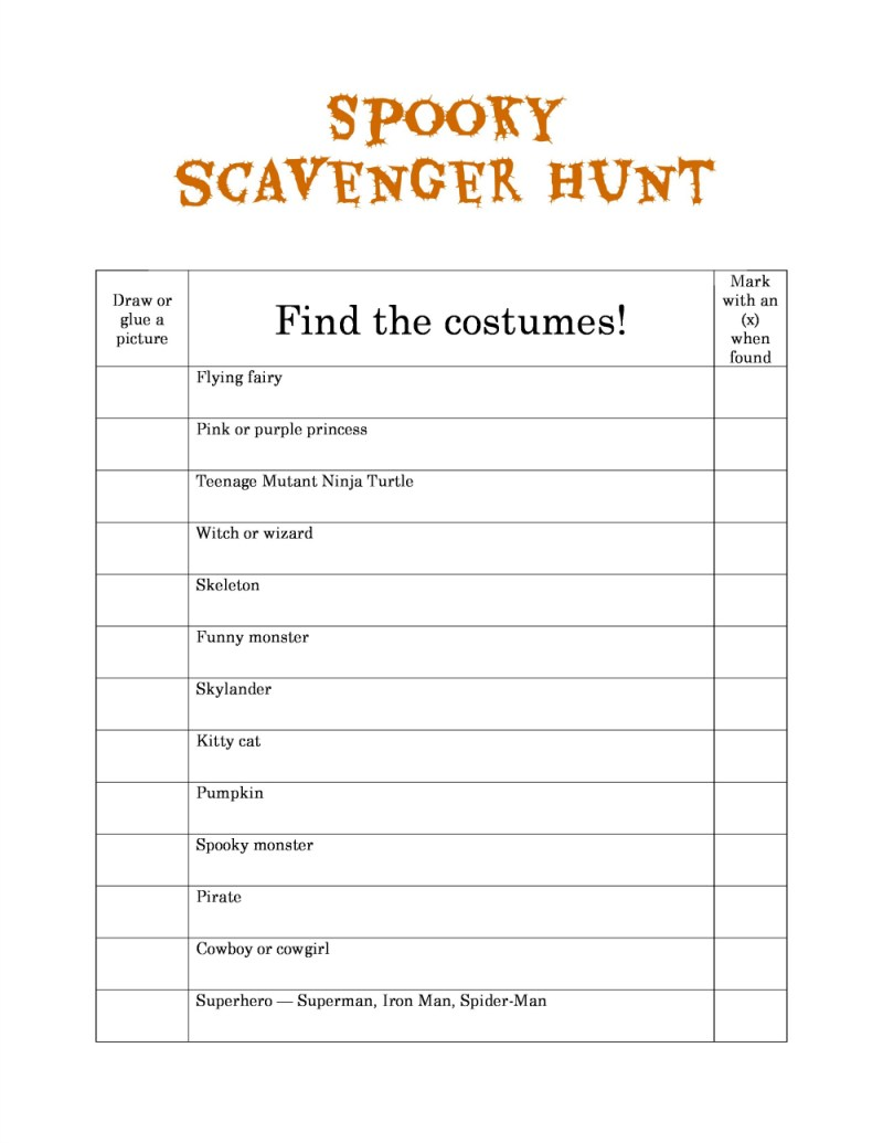 Large Of Photo Scavenger Hunt Ideas