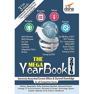 THE MEGA YEARBOOK 2016-Current Affairs General Knowledge for Competitive Exams