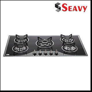 Seavy King 5 Br Glass Built in Hob