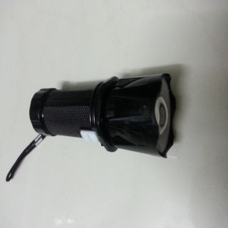 Zoomable small LED torch