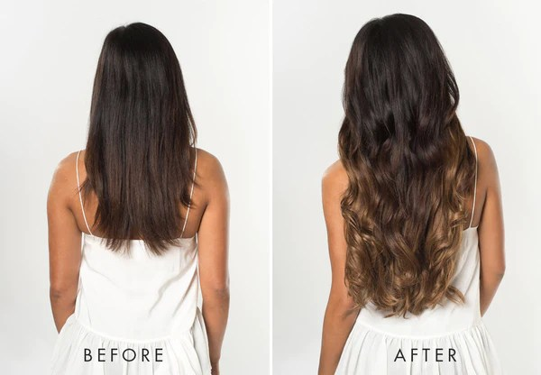 Ombre Hair  5 Reasons To Try It     Luxy Hair Ombre Hair Extensions   Ombre Chestnut Luxy Hair