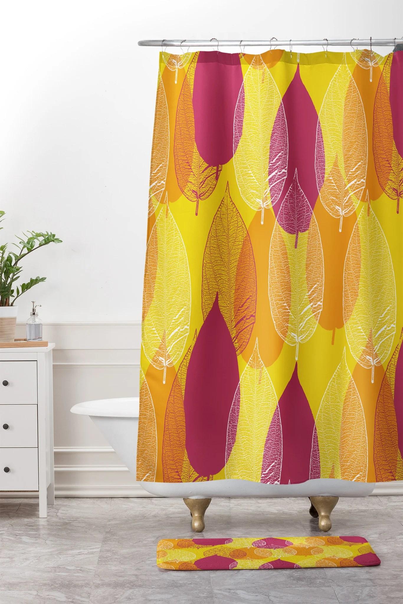 Fullsize Of Yellow Shower Curtain