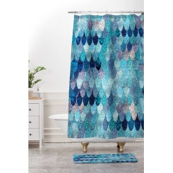 Small Crop Of Teal Shower Curtain