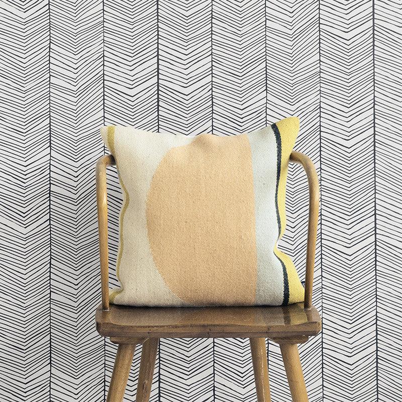 Herringbone Wallpaper by Ferm Living – The Modern Shop