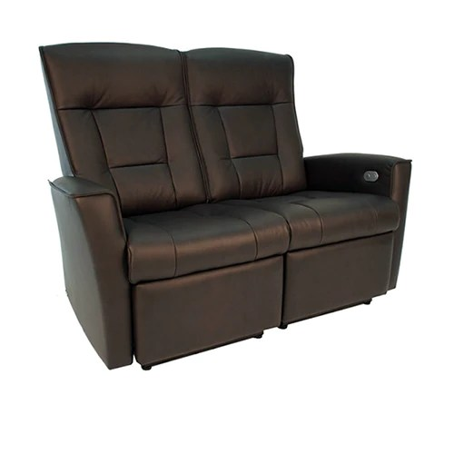 Fjords Ulstein Motorized Wall Saver High Back Loveseat U2013 Furniture Divano  San Diego High Back Loveseat62