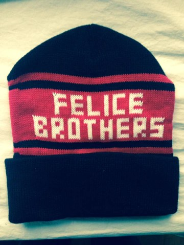 The Felice Brothers winter hat