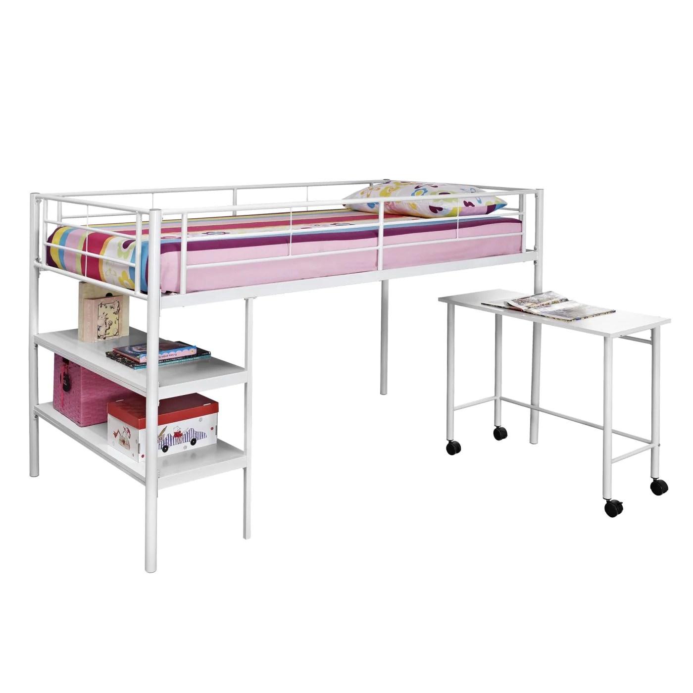 Swish Storage Desk Bunk Walker Edison Twin Low Loft Bed Twin Low Loft Bed Desk Low Loft Bed Diy Low Loft Bed Desk houzz-03 Low Loft Bed