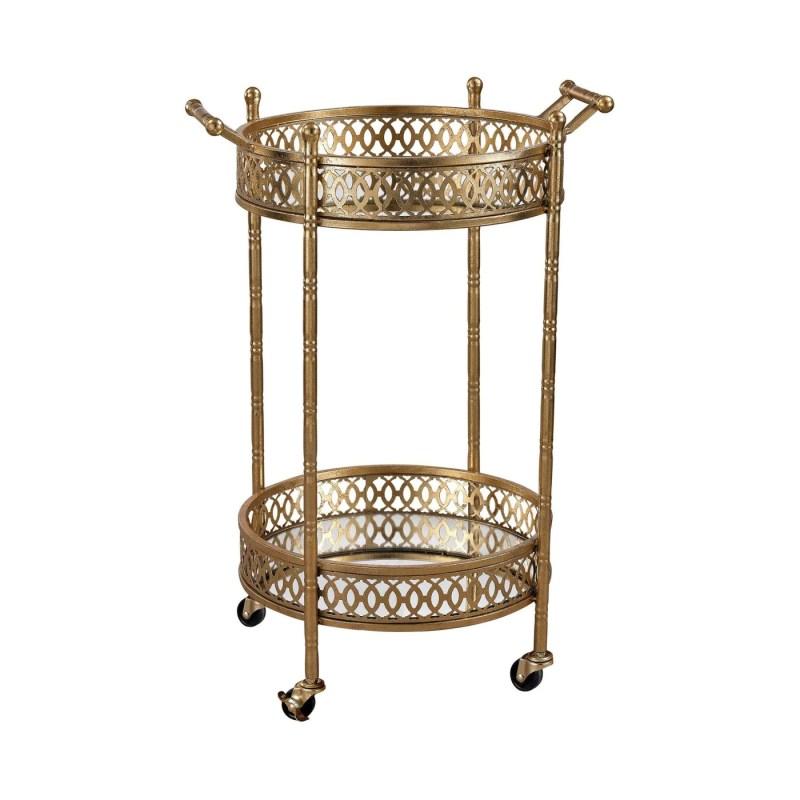 Large Of Gold Bar Cart