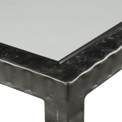 Sterling Ribbed Iron Tempered Glass Industrial Console Table Ribbed Iron Tempered Glass Industrial Console Table Scenario Home Industrial Console Table Canada Industrial Console Table Ebay