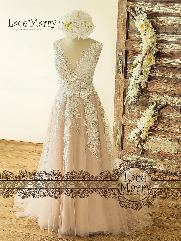 Fullsize Of Vintage Lace Wedding Dress