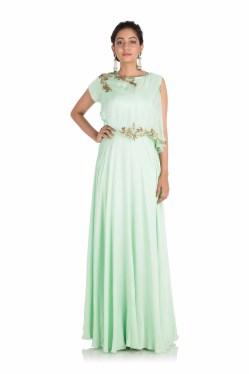 Small Of Light Green Dress