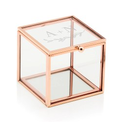 Small Of Glass Jewelry Box