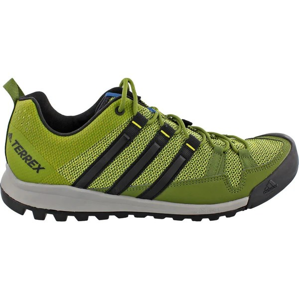 Adidas Terrex Solo Running Shoe Unity Lime/Black/Core Blue BB5563 - Sportique