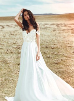 Small Of A Line Wedding Dress