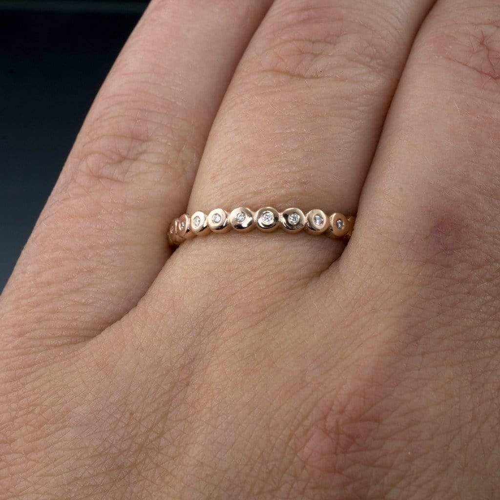 show me your ring guards ring enhancers stacking rings stackable wedding bands I wear my stack a variety of ways I love the personality they add to my e ring