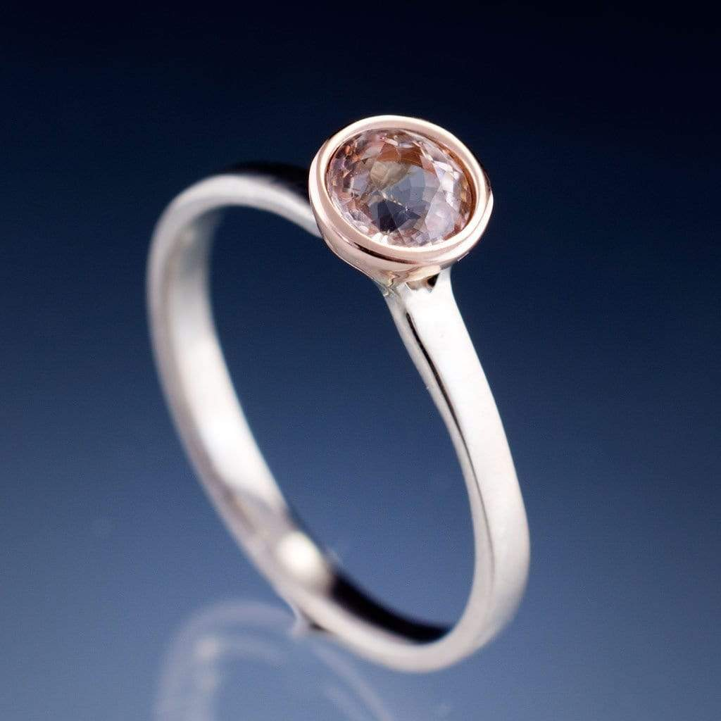 Fullsize Of Morganite Rose Gold Ring