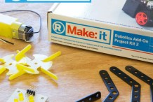 Make:it Robotics Add-on Project Kit 2
