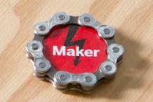 Maker Bike Chain Magnet