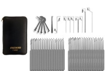 74 Piece Slim Line Lock Pick Set