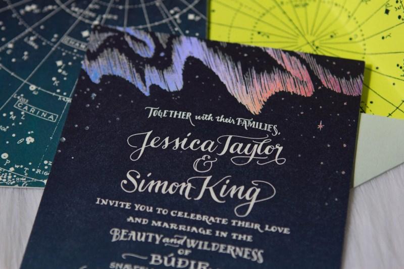 Large Of A Celestial Invitation