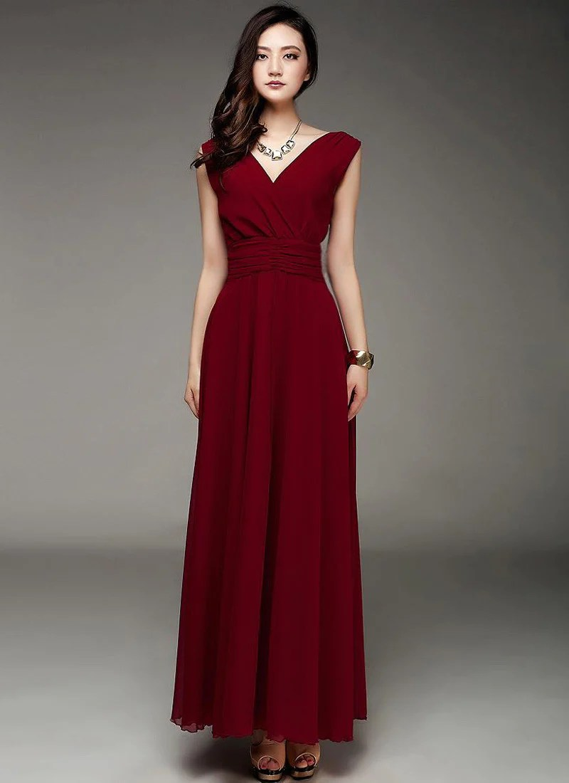 Large Of Burgundy Maxi Dress
