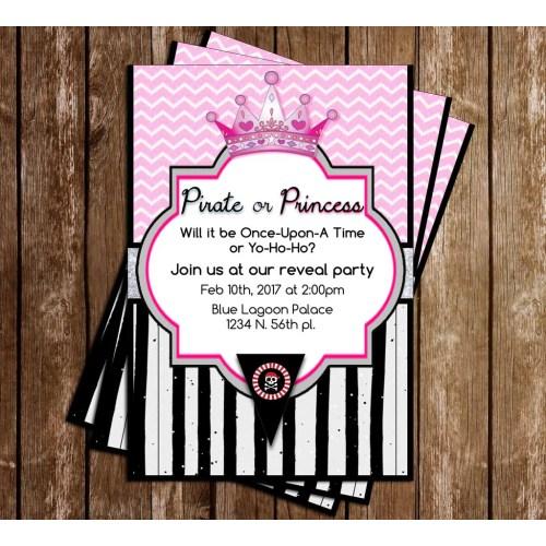 Medium Crop Of Princess Baby Shower Invitations