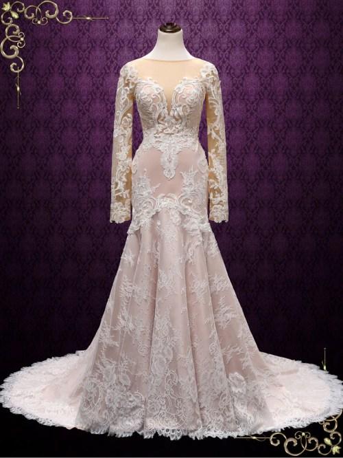 Medium Of Blush Colored Dresses
