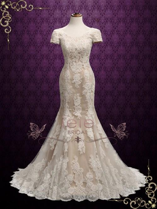 Medium Of Modest Wedding Dresses